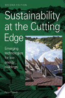 Sustainability At The Cutting Edge Book PDF