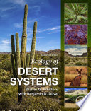 Ecology of Desert Systems Book