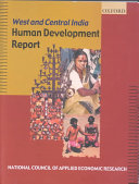 West And Central India Human Development Report