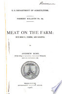Meat on the Farm Book PDF