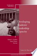 Developing Students Leadership Capacity