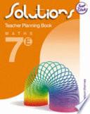 Solutions Teacher Planning Pack Extension Book 7