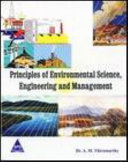 Principles of Environmental Science  Engineering and Management