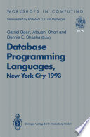 Database Programming Languages Dbpl 4