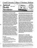 Animal Health Newsletter