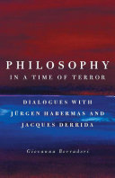 Pdf Philosophy in a Time of Terror Telecharger