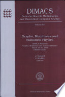 Graphs  Morphisms  and Statistical Physics