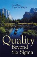 Quality Beyond Six Sigma Pdf/ePub eBook