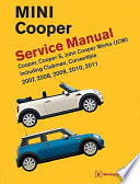 MINI Cooper (R55, R56, R57) Service Manual