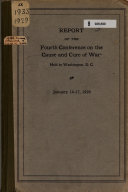 Report of the Fourth Conference on the Cause and Cure of War
