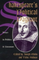 Shakespeare s Political Pageant