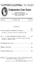 Comparative Law Series