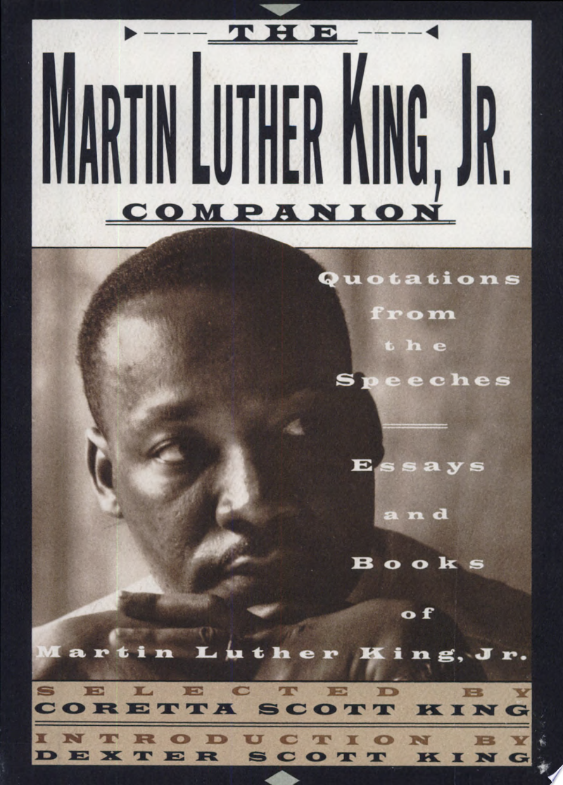 The Martin Luther King, Jr. Companion banner backdrop