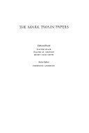 Mark Twain's Notebooks & Journals, Volume II (1877-1883)