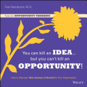 You Can Kill An Idea  But You Can t Kill An Opportunity
