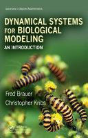Dynamical Systems for Biological Modeling