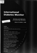 International Diabetes Monitor
