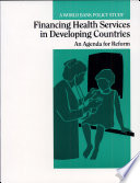 Financing Health Services In Developing Countries