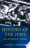 History Of The Jews In Modern Times Book PDF
