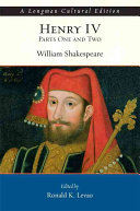 William Shakespeare s Henry IV  Parts One and Two