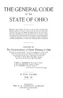 General Code of the State of Ohio