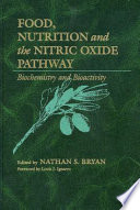 Food  Nutrition  and the Nitric Oxide Pathway Book