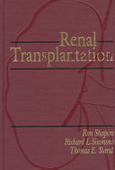 Renal Transplantation Book