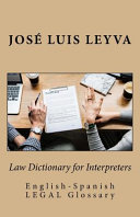 Law Dictionary for Interpreters