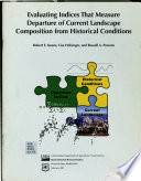 Evaluating Indices that Measure Departure of Current Landscape Composition from Historical Conditions