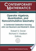 Operator Algebras, Quantization, and Noncommutative Geometry