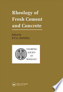 Rheology of Fresh Cement and Concrete Book