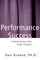 Performance Success Pdf/ePub eBook
