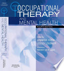 Occupational Therapy and Mental Health Book