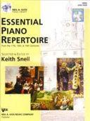 Essential Piano Repertoire Level Four