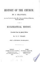 History of the Church  ecclesiastical history  tr  by E G Vibart