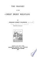 The Prophet of the Great Smoky Mountains