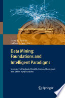 Data Mining  Foundations And Intelligent Paradigms