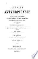 Annales antverpienses ab urbe condita