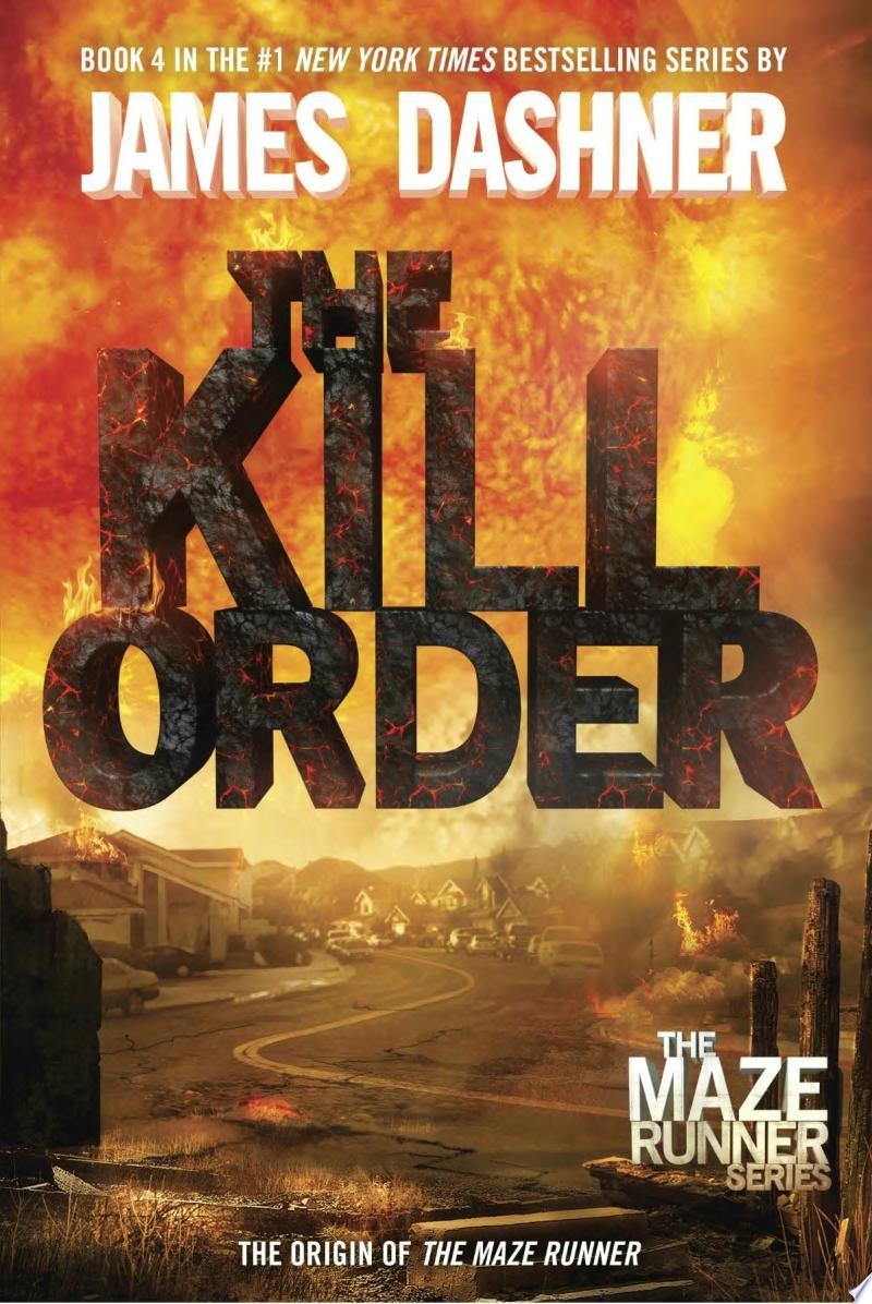 The Kill Order (Maze Runner, Book Four; Origin) banner backdrop