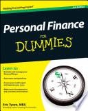"""""""Personal Finance For Dummies"""" by Eric Tyson"""
