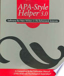 APA-Style Helper 5.0