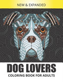 Dog Lovers Coloring Book for Adults