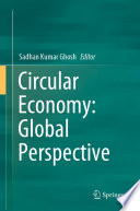 Circular Economy Global Perspective Book PDF