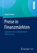 Preise in Finanzmärkten