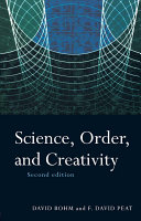 Science  Order and Creativity Second Edition