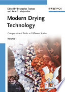 Modern Drying Technology, Computational Tools at Different Scales
