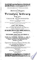 Incunabulic Treasures and Medieval Nuggets from the Trivulzio Library of Milan  Italy