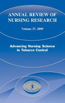 Annual Review of Nursing Research, Volume 27, 2009 Pdf/ePub eBook