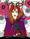 Relaxation   Meditation Witch Coloring Books for Adults