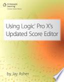Using Logic Pro X's Updated Score Editor